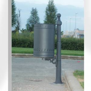 Litter bins for street and park